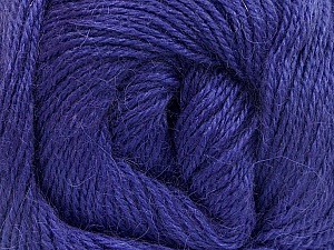 Fiber Content 45% Alpaca, 30% Polyamide, 25% Wool, Lavender, Brand Ice Yarns, Yarn Thickness 2 Fine  Sport, Baby, fnt2-51598