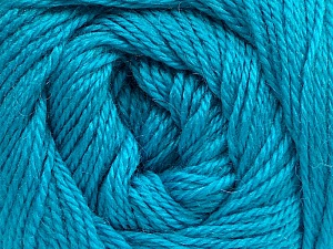 Fiber Content 45% Alpaca, 30% Polyamide, 25% Wool, Turquoise, Brand Ice Yarns, Yarn Thickness 2 Fine  Sport, Baby, fnt2-51600