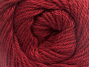 Fiber Content 45% Alpaca, 30% Polyamide, 25% Wool, Brand Ice Yarns, Burgundy, Yarn Thickness 3 Light  DK, Light, Worsted, fnt2-51616