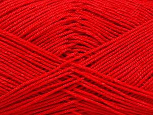 Ne: 8/4. Nm 14/4 Fiber Content 100% Mercerised Cotton, Red, Brand Ice Yarns, Yarn Thickness 2 Fine Sport, Baby, fnt2-51638