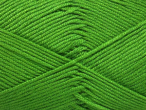 Fiber Content 50% Bamboo, 50% Acrylic, Brand Ice Yarns, Green, Yarn Thickness 2 Fine  Sport, Baby, fnt2-51654
