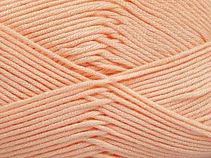Fiber Content 50% Bamboo, 50% Acrylic, Light Orange, Brand Ice Yarns, Yarn Thickness 2 Fine  Sport, Baby, fnt2-51664