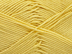 Fiber Content 50% Bamboo, 50% Acrylic, Yellow, Brand Ice Yarns, Yarn Thickness 2 Fine  Sport, Baby, fnt2-51665