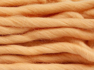 Fiber Content 100% Superwash Wool, Light Salmon, Brand Ice Yarns, Yarn Thickness 6 SuperBulky  Bulky, Roving, fnt2-51679