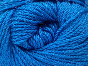 Fiber Content 45% Alpaca, 30% Polyamide, 25% Wool, Brand Ice Yarns, Blue, Yarn Thickness 3 Light  DK, Light, Worsted, fnt2-51735