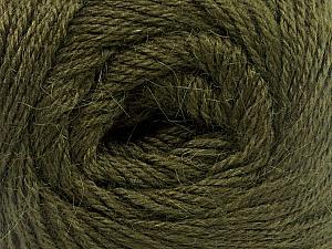 Fiber Content 45% Alpaca, 30% Polyamide, 25% Wool, Brand Ice Yarns, Dark Green, Yarn Thickness 2 Fine  Sport, Baby, fnt2-51736