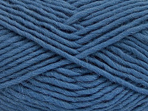 Fiber Content 100% Wool, Smoke Blue, Brand Ice Yarns, Yarn Thickness 5 Bulky  Chunky, Craft, Rug, fnt2-51921