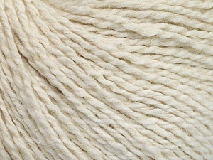 Fiber Content 68% Cotton, 32% Silk, Off White, Brand Ice Yarns, Yarn Thickness 2 Fine  Sport, Baby, fnt2-51925