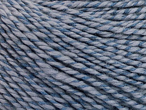 Fiber Content 68% Cotton, 32% Silk, Indigo Blue, Brand Ice Yarns, Yarn Thickness 2 Fine  Sport, Baby, fnt2-51932