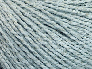 Fiber Content 68% Cotton, 32% Silk, Brand Ice Yarns, Baby Blue, Yarn Thickness 2 Fine  Sport, Baby, fnt2-51934