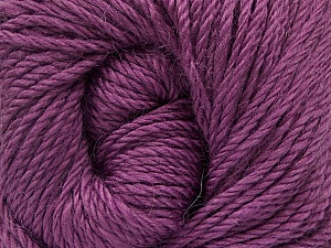 Fiber Content 45% Alpaca, 30% Polyamide, 25% Wool, Lavender, Brand Ice Yarns, Yarn Thickness 3 Light  DK, Light, Worsted, fnt2-51951