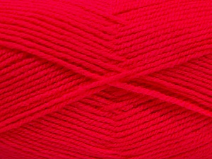 Fiber Content 100% Acrylic, Neon Pink, Brand Ice Yarns, Yarn Thickness 3 Light  DK, Light, Worsted, fnt2-52072