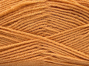 Fiber Content 100% Acrylic, Light Brown, Brand Ice Yarns, Yarn Thickness 3 Light  DK, Light, Worsted, fnt2-52077