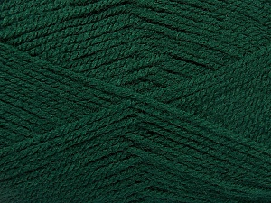 Fiber Content 100% Acrylic, Brand Ice Yarns, Dark Green, Yarn Thickness 3 Light  DK, Light, Worsted, fnt2-52079