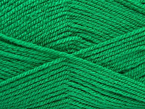Fiber Content 100% Acrylic, Brand Ice Yarns, Green, Yarn Thickness 3 Light  DK, Light, Worsted, fnt2-52080