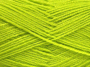 Fiber Content 100% Acrylic, Light Green, Brand Ice Yarns, Yarn Thickness 3 Light  DK, Light, Worsted, fnt2-52082