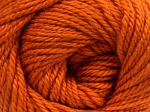 Fiber Content 45% Alpaca, 30% Polyamide, 25% Wool, Orange, Brand Ice Yarns, Yarn Thickness 3 Light  DK, Light, Worsted, fnt2-52116