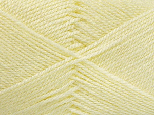 Fiber Content 100% Acrylic, Lemon Yellow, Brand Ice Yarns, Yarn Thickness 2 Fine  Sport, Baby, fnt2-52120