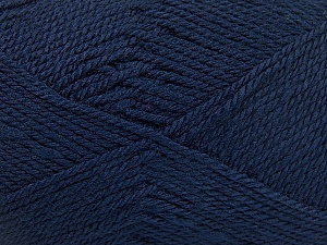 Fiber Content 100% Acrylic, Navy, Brand Ice Yarns, Yarn Thickness 2 Fine  Sport, Baby, fnt2-52121