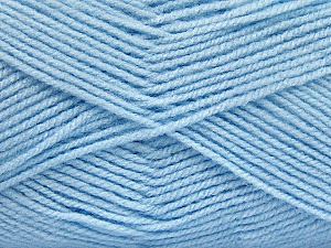 Fiber Content 100% Baby Acrylic, Brand Ice Yarns, Baby Blue, Yarn Thickness 2 Fine  Sport, Baby, fnt2-52124