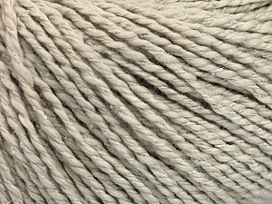 Fiber Content 68% Cotton, 32% Silk, Brand Ice Yarns, Beige, Yarn Thickness 2 Fine  Sport, Baby, fnt2-52151