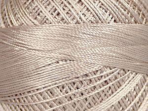 Fiber Content 100% Micro Fiber, Brand YarnArt, Mink, Yarn Thickness 0 Lace  Fingering Crochet Thread, fnt2-52260