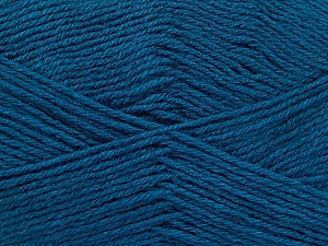 Fiber Content 60% Merino Wool, 40% Acrylic, Teal, Brand Ice Yarns, Yarn Thickness 2 Fine  Sport, Baby, fnt2-52352