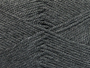 Fiber Content 100% Acrylic, Brand Ice Yarns, Dark Grey, Yarn Thickness 2 Fine  Sport, Baby, fnt2-52357