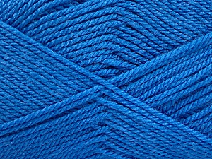 Fiber Content 100% Acrylic, Brand Ice Yarns, Blue, Yarn Thickness 2 Fine  Sport, Baby, fnt2-52359