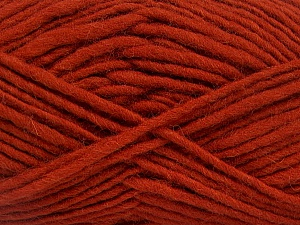 Fiber Content 100% Wool, Brand Ice Yarns, Copper, Yarn Thickness 5 Bulky  Chunky, Craft, Rug, fnt2-52571