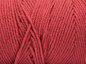 Items made with this yarn are machine washable & dryable. Fiber Content 100% Dralon Acrylic, Terra Cotta, Brand Ice Yarns, Yarn Thickness 4 Medium  Worsted, Afghan, Aran, fnt2-52577