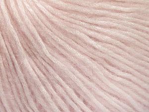 Fiber Content 50% Acrylic, 50% Polyamide, Brand Ice Yarns, Baby Pink, Yarn Thickness 4 Medium  Worsted, Afghan, Aran, fnt2-52582