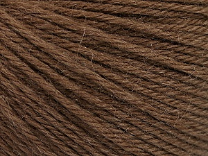 Fiber Content 55% Baby Alpaca, 45% Superwash Extrafine Merino Wool, Brand Ice Yarns, Brown, Yarn Thickness 3 Light  DK, Light, Worsted, fnt2-52762