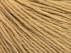Fiber Content 55% Baby Alpaca, 45% Superwash Extrafine Merino Wool, Brand Ice Yarns, Cafe Latte, Yarn Thickness 3 Light  DK, Light, Worsted, fnt2-52763