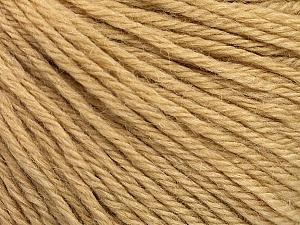 Fiber Content 55% Baby Alpaca, 45% Superwash Extrafine Merino Wool, Brand Ice Yarns, Cafe Latte, Yarn Thickness 3 Light DK, Light, Worsted, fnt2-52763