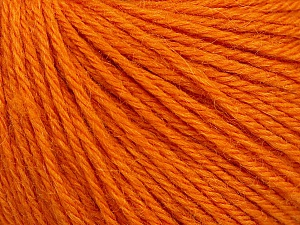 Fiber Content 55% Baby Alpaca, 45% Superwash Extrafine Merino Wool, Orange, Brand Ice Yarns, Yarn Thickness 3 Light  DK, Light, Worsted, fnt2-52766