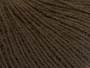 Fiber Content 70% Acrylic, 30% Wool, Brand Ice Yarns, Brown, Yarn Thickness 2 Fine  Sport, Baby, fnt2-52854