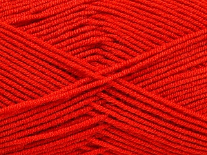 Fiber Content 50% Bamboo, 50% Acrylic, Tomato Red, Brand Ice Yarns, Yarn Thickness 2 Fine  Sport, Baby, fnt2-53093