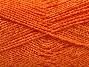 Fiber Content 50% Bamboo, 50% Acrylic, Orange, Brand Ice Yarns, Yarn Thickness 2 Fine  Sport, Baby, fnt2-53095