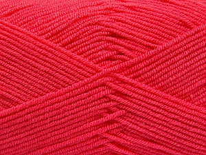 Fiber Content 50% Bamboo, 50% Acrylic, Brand Ice Yarns, Candy Pink, Yarn Thickness 2 Fine  Sport, Baby, fnt2-53097