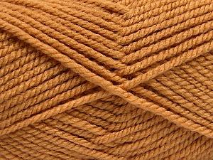 Fiber Content 100% Acrylic, Brand Ice Yarns, Camel, Yarn Thickness 5 Bulky  Chunky, Craft, Rug, fnt2-53172