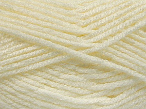 Fiber Content 100% Acrylic, Light Cream, Brand Ice Yarns, Yarn Thickness 5 Bulky  Chunky, Craft, Rug, fnt2-53176