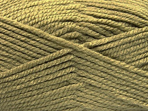 Fiber Content 100% Acrylic, Light Khaki, Brand Ice Yarns, Yarn Thickness 5 Bulky  Chunky, Craft, Rug, fnt2-53179