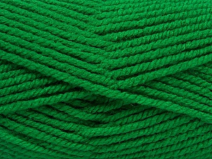 Fiber Content 100% Acrylic, Brand Ice Yarns, Green, Yarn Thickness 5 Bulky  Chunky, Craft, Rug, fnt2-53180