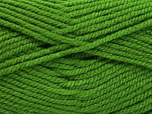 Fiber Content 100% Acrylic, Light Green, Brand Ice Yarns, Yarn Thickness 5 Bulky  Chunky, Craft, Rug, fnt2-53181
