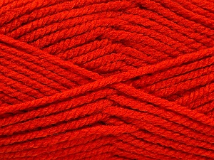 Fiber Content 100% Acrylic, Brand Ice Yarns, Dark Orange, Yarn Thickness 5 Bulky  Chunky, Craft, Rug, fnt2-53184