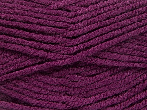Fiber Content 100% Acrylic, Brand Ice Yarns, Dark Maroon, Yarn Thickness 5 Bulky  Chunky, Craft, Rug, fnt2-53193