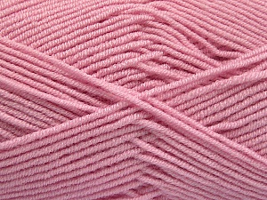 Fiber Content 50% Bamboo, 50% Acrylic, Brand Ice Yarns, Baby Pink, Yarn Thickness 2 Fine  Sport, Baby, fnt2-53332