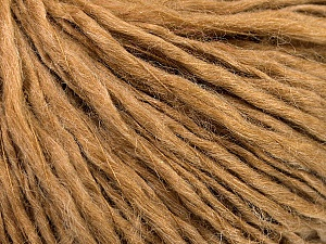 Fiber Content 60% Wool, 40% Acrylic, Light Brown, Brand Ice Yarns, Yarn Thickness 2 Fine  Sport, Baby, fnt2-53359