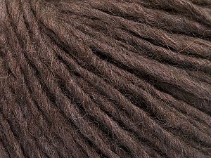 Fiber Content 50% Merino Wool, 25% Acrylic, 25% Alpaca, Brand Ice Yarns, Brown Melange, Yarn Thickness 4 Medium  Worsted, Afghan, Aran, fnt2-53596